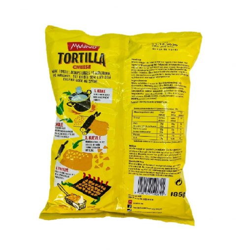 Scandinavian Goodies Others Maarud Tortilla Cheese 185g Back