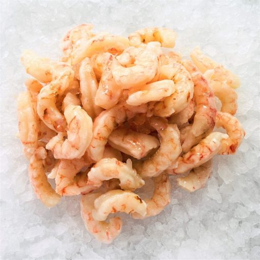 Frozen Argentina Red Shrimps Peeled Tail Off Raw 1kg Unpacked Diagonally