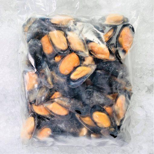 Frozen Chili Blue Mussels Half Shelled 1kg Inside