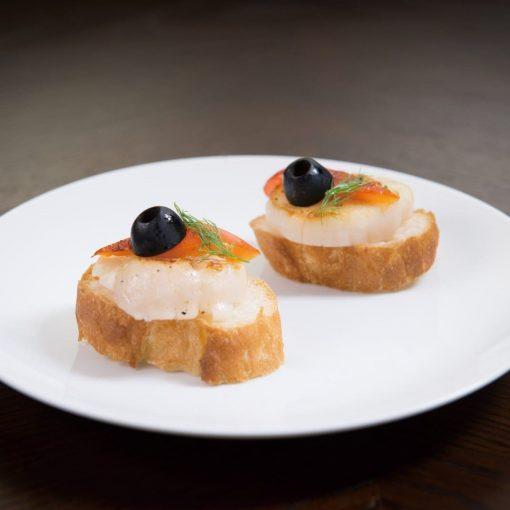 Frozen Japan Scallop Meat Lsize Sashimi Grade 500g Griled
