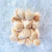 Frozen Japan Scallop Meat Medium Sashimi Grade 500g Packed