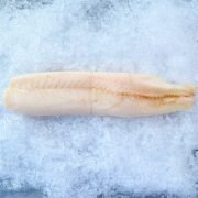 Frozen New Zealand Ling Whole Fillet Skin Off Boneless 500g Unpacked