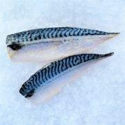 Frozen Norway Saba Mackerel Fillet Portioned Skin On 125g X 2 Unpack Skin