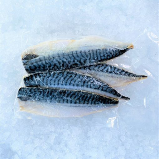 Frozen Norway Saba Mackerel Fillet Portioned Skin On 125g X 4 Pack