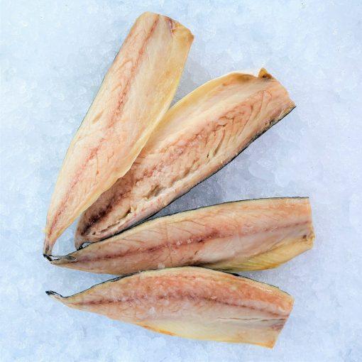 Frozen Norway Saba Mackerel Fillet Portioned Skin On 125g X 4 Unpack Meat