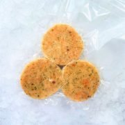 Frozen Singapore Norway Burger Patties Haddock Salmon Pattie 3x100g