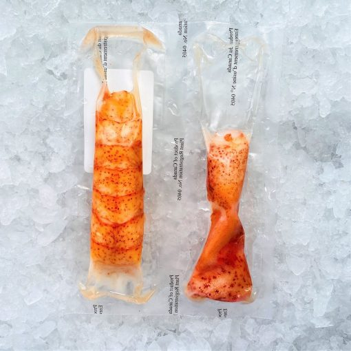 Frozen Usa Canada Lobster Meat Tail With 2 Claws 113g Packed