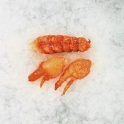 Frozen Usa Canada Lobster Meat Tail With 2 Claws 113g Unpacked Defrost