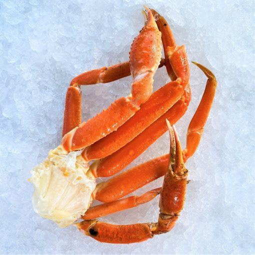 Frozen Usa Canada Snow Crab Cooked Cluster 300g Unpacked Stand