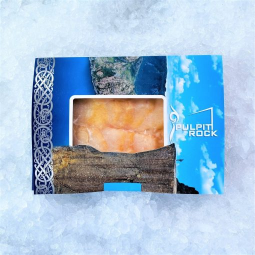 Smoked Atlantic Cod Fillet Pre Sliced 250g Packed Outside
