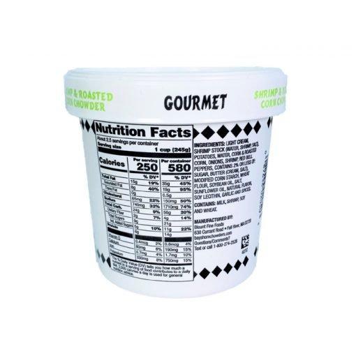 Soups&stocks Frozen Usa Soup Shrimp And Roasted Corn Chowder 567g Left