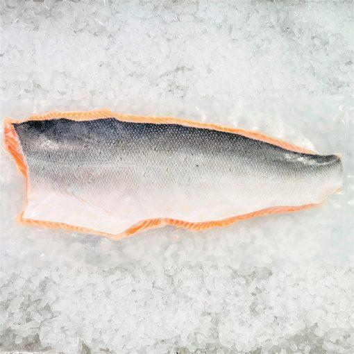 Air Flown Norway Fresh Salmon Fillet Whole Boneless Skin On 1.4kg Skin Pack
