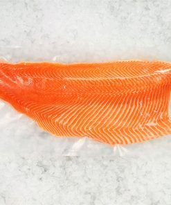 Air Flown Norway Fresh Salmon Trout Fillet Whole Boneless Skin On 1.4kg Meat Pack