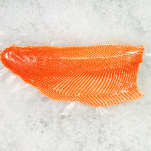 Air Flown Norway Fresh Salmon Trout Fillet Whole Boneless Skin On 1.4kg Meat Pack