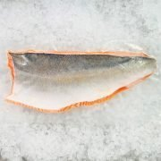 Air Flown Norway Fresh Salmon Trout Fillet Whole Boneless Skin On 1.4kg Skin Pack