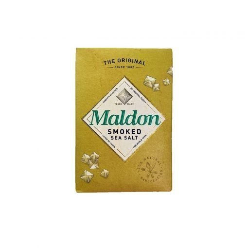 Scandinavian Goodies Dry Sea Salt Smoked 125g Maldon Front