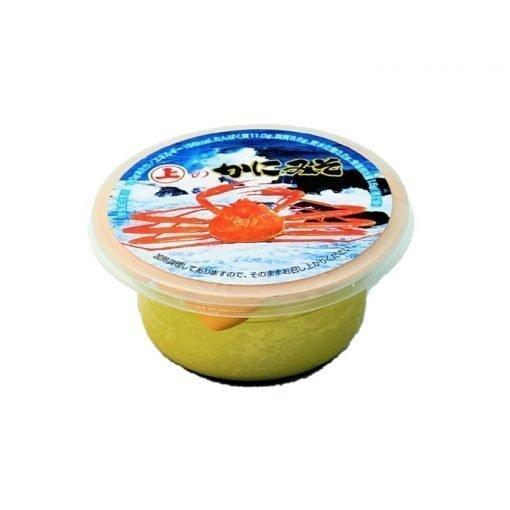 Air Flown Japan Kanimiso Crab Paste Miso 100g Diagonally