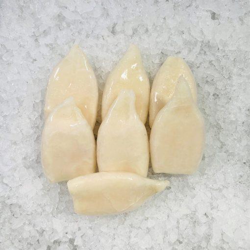 Frozen China Squid Tube Raw 6pc Unpack