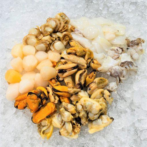 Frozen Malaysia Seafood Mix 500g Defrost Diagonally