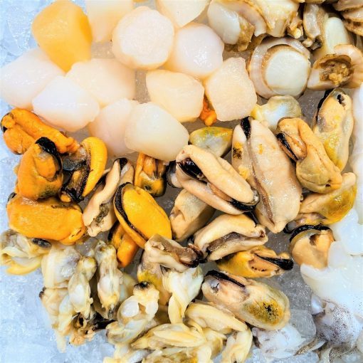 Frozen Malaysia Seafood Mix 500g Defrost Mussels