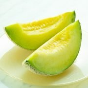 Air Flown Japan Fresh Fruit Crawn Musk Melon 1 1.5kg Cut