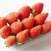 Air Flown Japan Fresh Fruit Strawberry Tochiotome Brand 12pcs