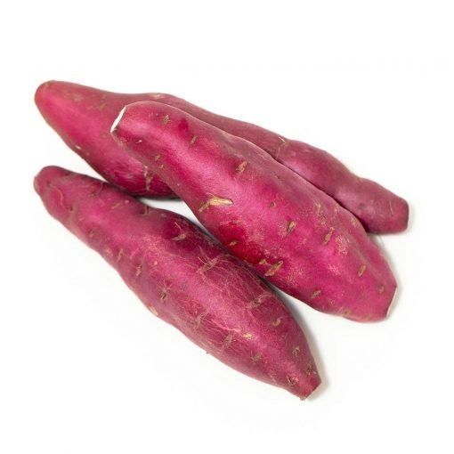 Air Flown Japan Fresh Vegetable Sweet Potato Beniazuma Imo No Back Ground