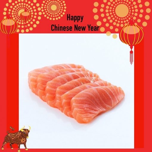 Air Flown Fresh Norway Salmon Sashimi Cut 250g Nobackground Cny