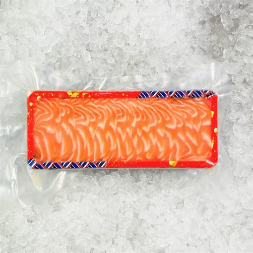 Air Flown Fresh Norway Salmon Sashimi Cut 250g Packed