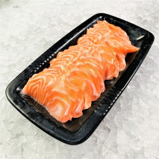 Air Flown Fresh Norway Salmon Sashimi Cut 250g Plate