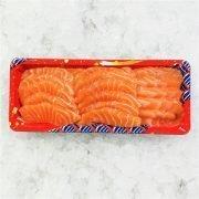Air Flown Fresh Norway Salmon Sashimi Cut 250g Unpacked Front