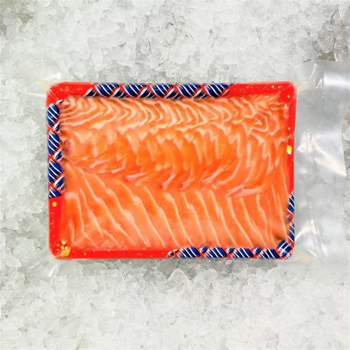 Air Flown Fresh Norway Salmon Sashimi Cut 500g Packed