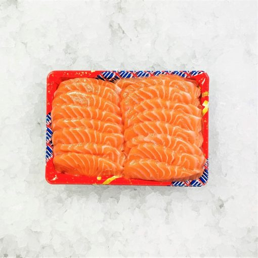 Air Flown Fresh Norway Salmon Sashimi Cut 500g Unpacked