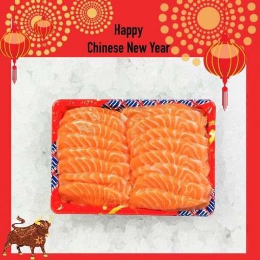 Air Flown Fresh Norway Salmon Sashimi Cut 500g Unpacked Cny