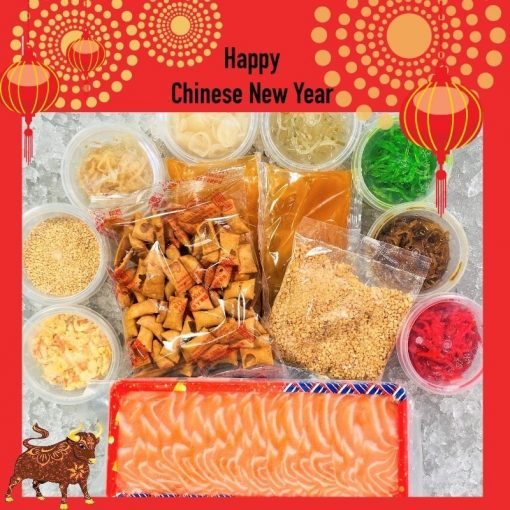 Cny Yusheng Bundle Fresh Salmon Sashimi 8 10 Pax Packed Cny
