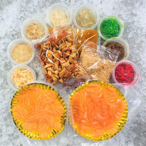 Cny Yusheng Bundle Frozen Salmon Sashimi 4 5pax