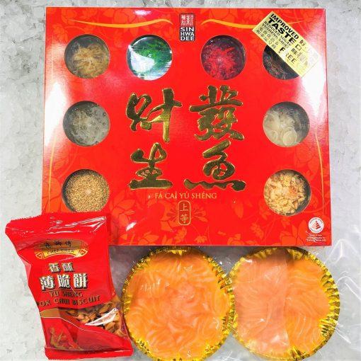 Cny Yusheng Bundle Frozen Salmon Sashimi 4 5pax Exact Products