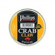 Frozen Indonesia Blue Swimming Crab Claw Meat 454g Phillips Top