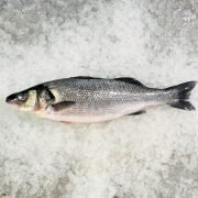 Air Flown Scotland Fresh Sea Bass Whole Head On 600 700g