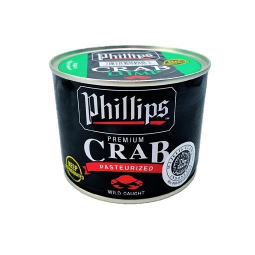 Frozen Indonesia Blue Swimming Crab Lump Meat 454g Phillips Front