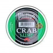 Frozen Indonesia Blue Swimming Crab Lump Meat 454g Phillips Top