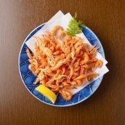 Frozen Japan Lake Shrimps Kawaebi Whole Head On 1kg Deep Fried Top